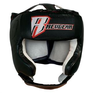 Revgear Leather Open Face Headgear